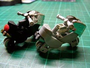 Xe đồ chơi tự chế