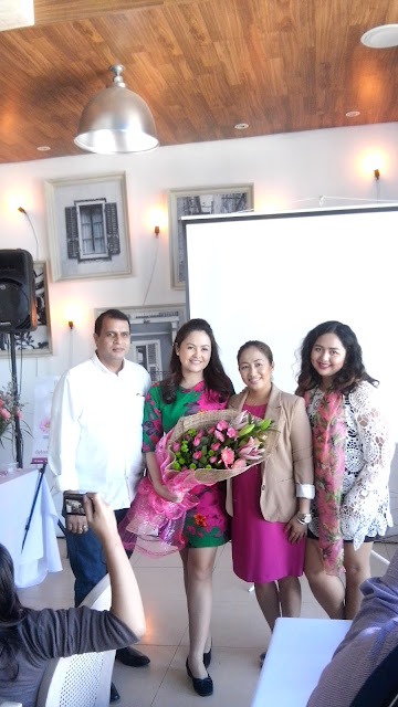 L-R: Ramesh Tenambhat Krishnamurthy, Chief Operating Officer of Brady Pharma, Dr. Kristina C. Reyes, Daisy Gonzalo, Brand Manager and beauty blogger Kumi Yusada.