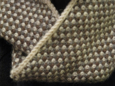 Slip Stitch Knitting Two Colors : Julia Hedges Laces: Knitting Resolutions for 2013.