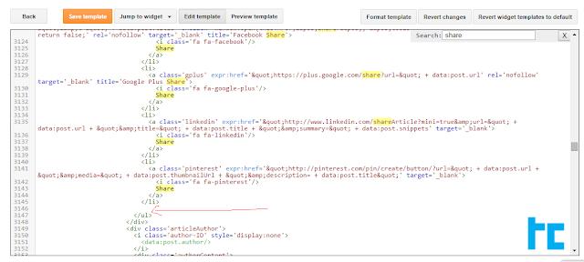 whatsapp share button CODE for blogger