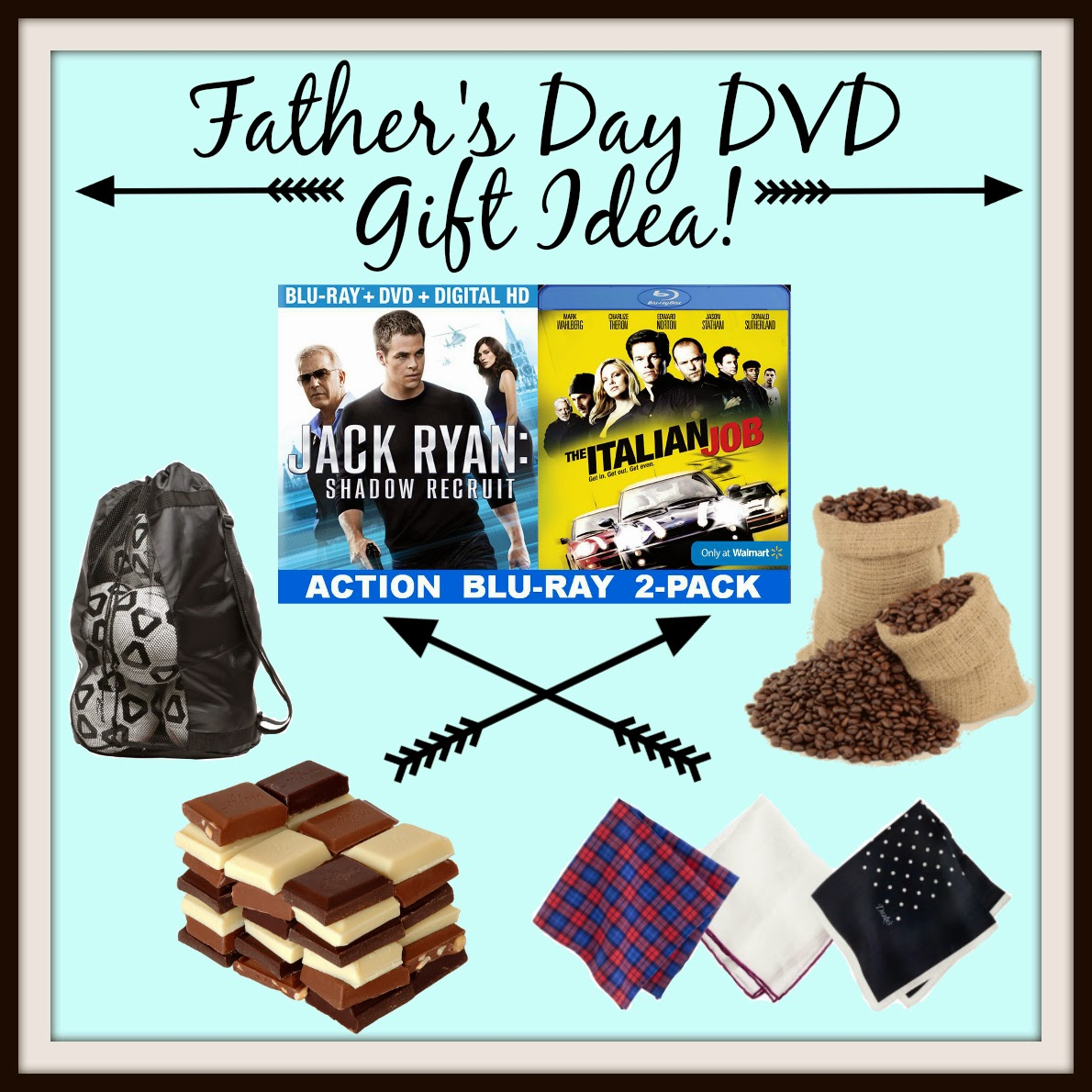 Father's Day DVD Gift Idea on Diane's Vintage Zest! #shop #JackRyanBluRay #cbias