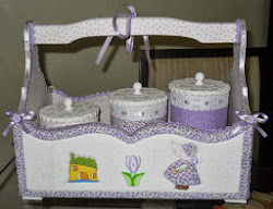 Kit higiene Camponesa Lilás
