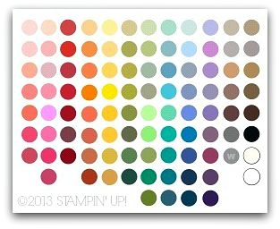 Stampin' Up! My Digital Studio Revised Color Palette