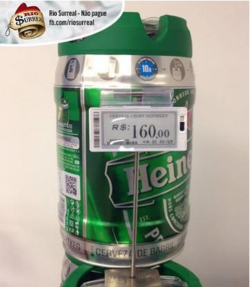Cerveza Heineken.