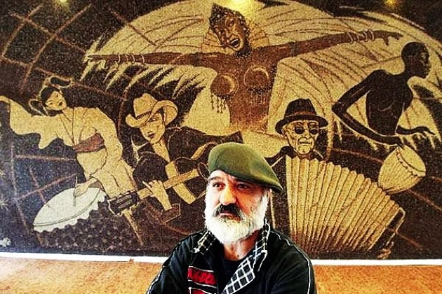 Saimir Strati, artista del mosaico, 7 récords mundiales guinness, one worl one family one coffee