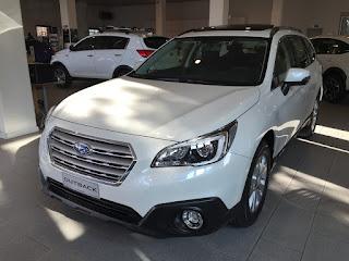 Starten New 2015 Subaru Outback 2.0 Diesel Linear CVT Spezifikationen
