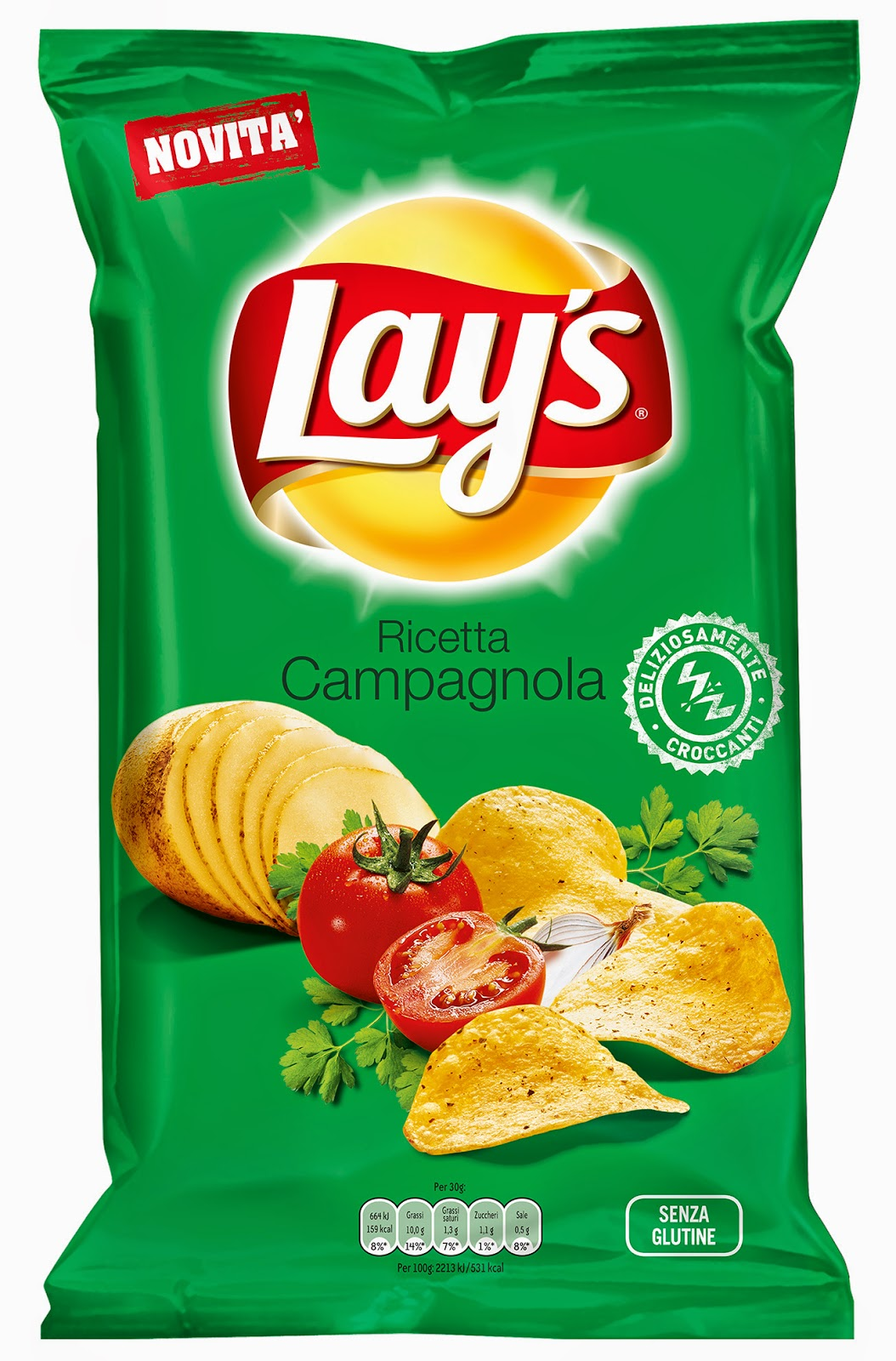 Lay's gusto campagnolo