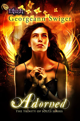 Cover Reveal: Adorned (Trinity of Souls #1) by Georgeann Swiger