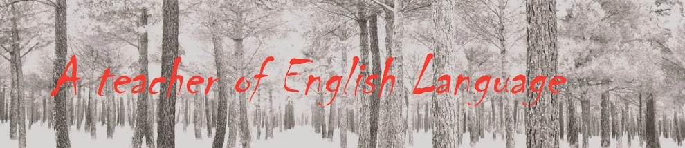 A teacher of English Language