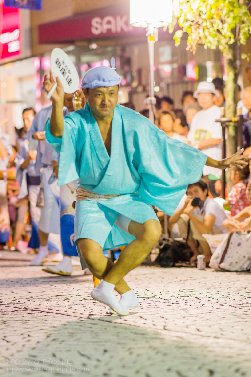 三鷹阿波踊り、みたか銀座連の男踊り