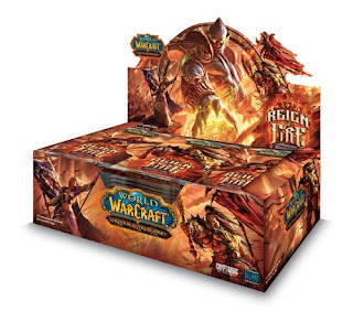 Reign of Fire Booster Packs - Warcraft TCG Loot