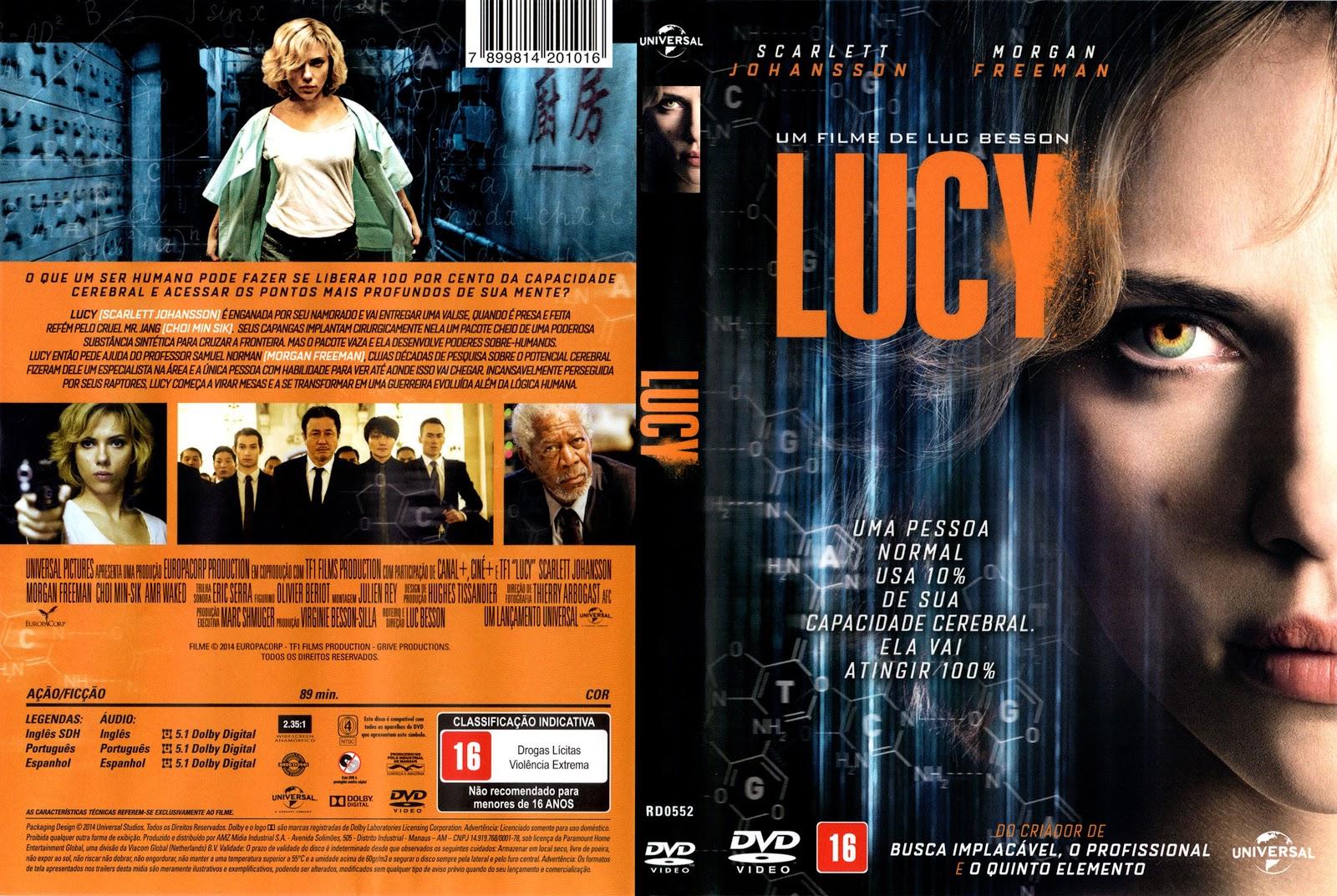 Capa DVD Lucy
