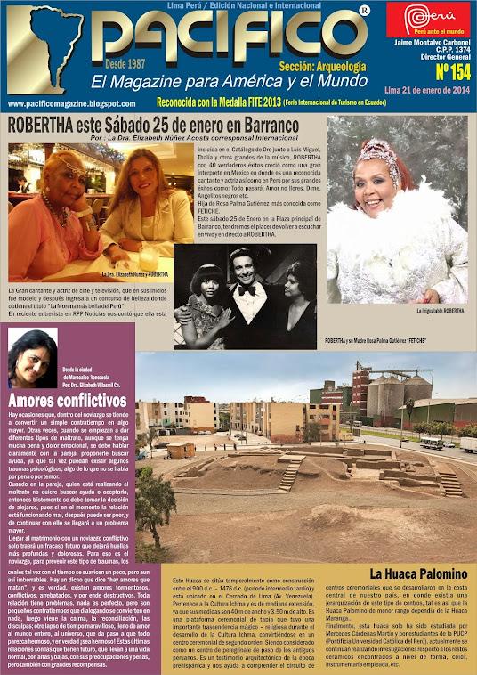 Revista Pacífico Nº 154 Arqueología