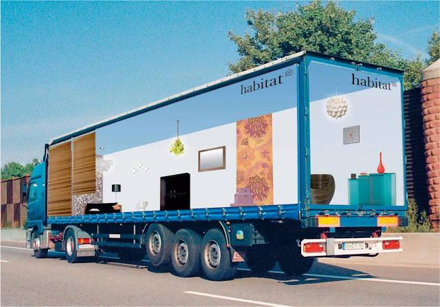 fotos de camiones curiosas publicidad anuncios habitat habitacion