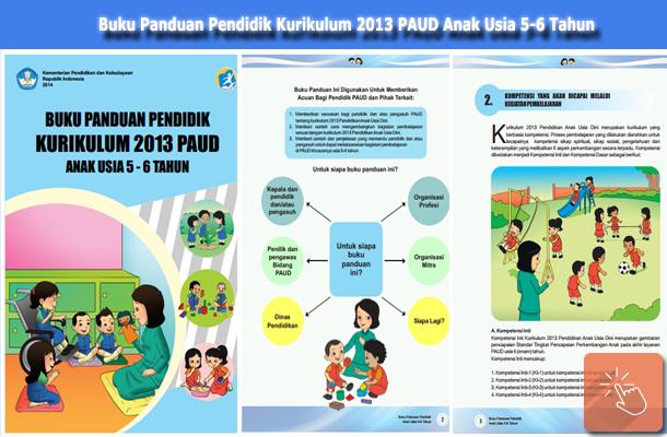 Download Buku Panduan Pendidik Kurikulum 2013 PAUD Anak Usia 5-6 Tahun
