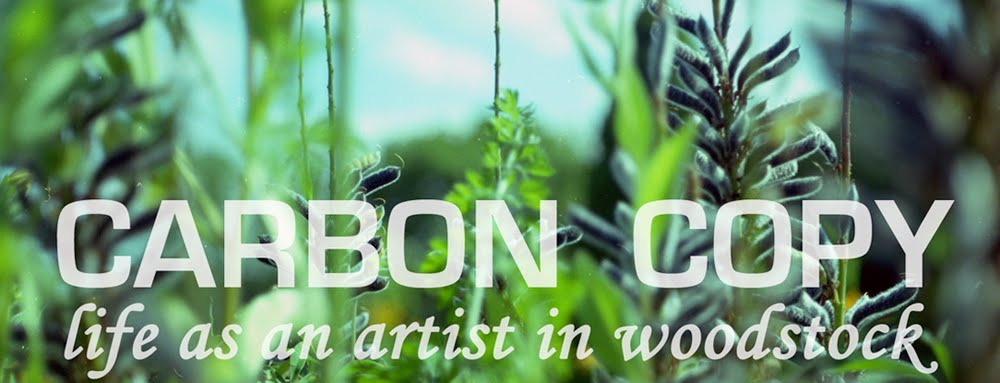 carbon copy: life as an artist in woodstock