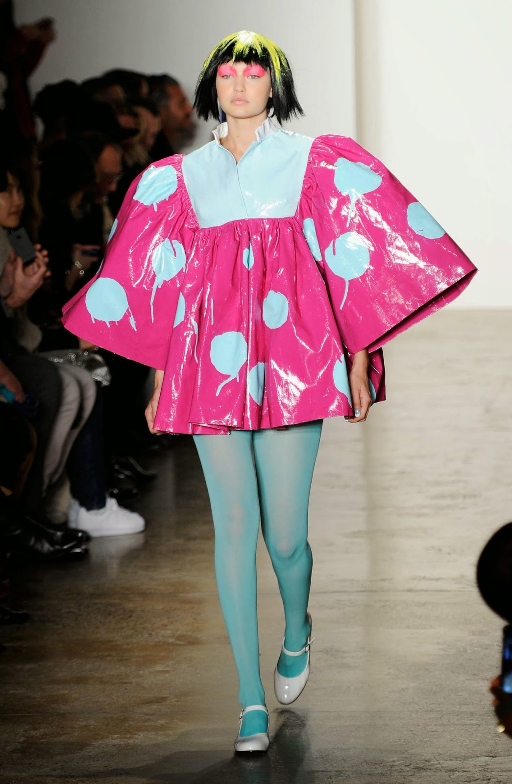 Gigi Hadid is whimsical at the Jeremy Scott Fall/Winter 2015 New York Fashion Week Show