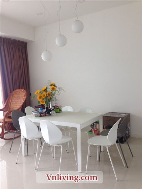 Large balcony apartment furnished for rent 3 bedrooms in The Estella