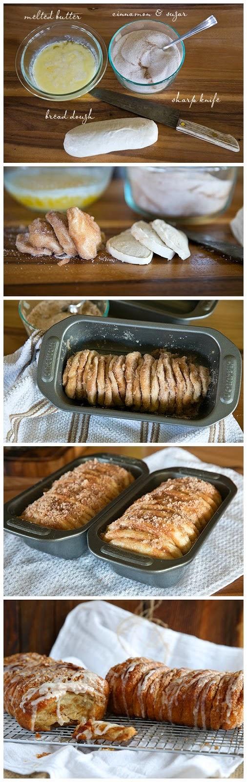 Cinnamon & Sugar Pull Apart Bread