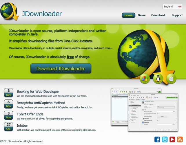 Download JDownloader 20 Beta Offline Installer 2018