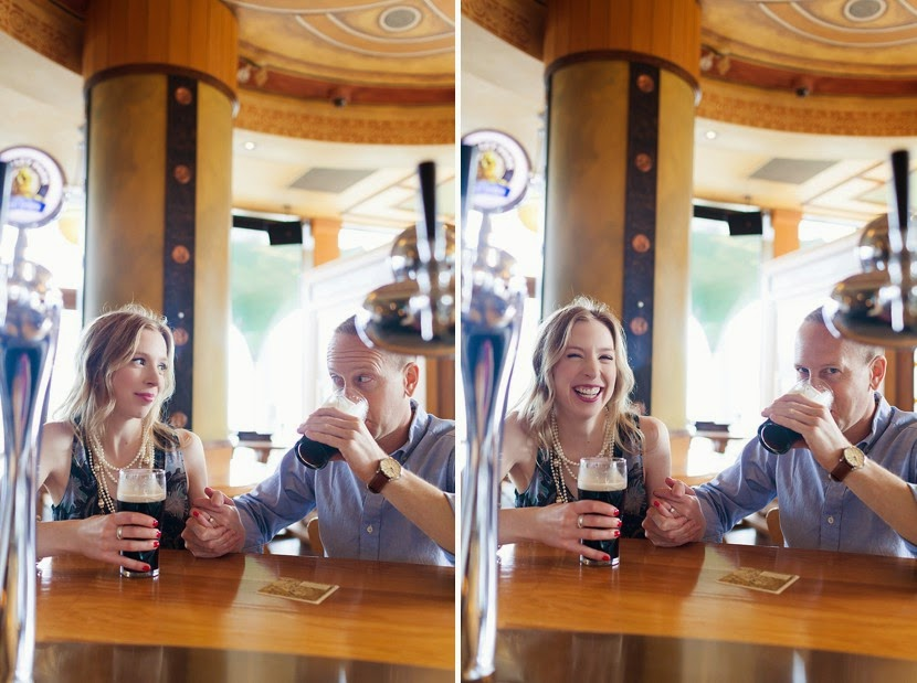 vancouver engagement pub photo