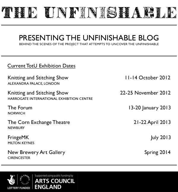 Unfinishable Blog