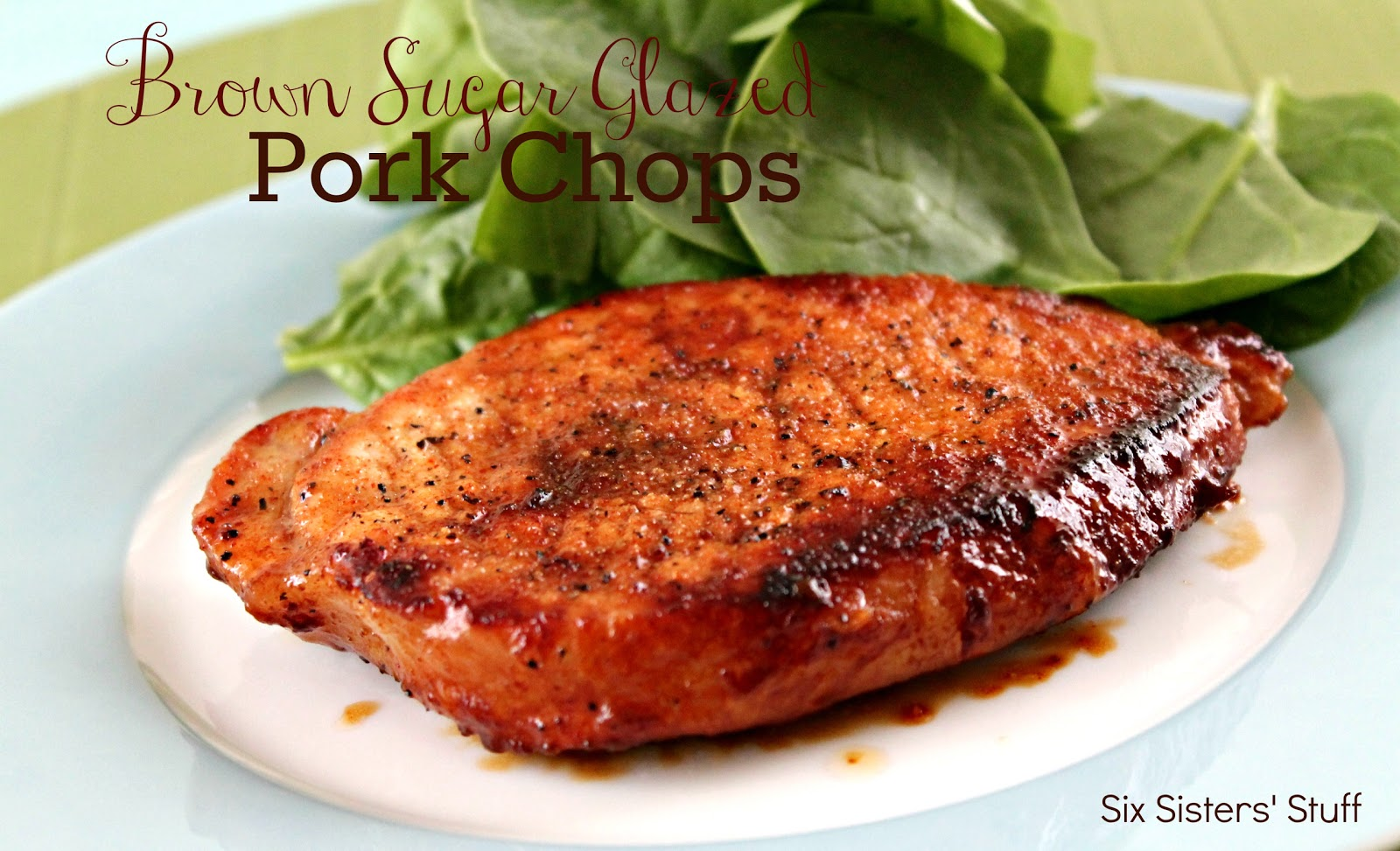 Brown Sugar Glazed Pork Chops Recipe