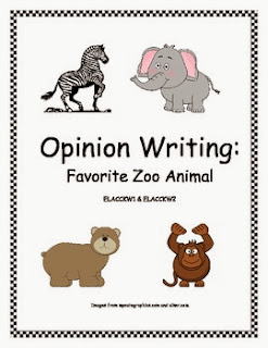 http://www.teacherspayteachers.com/Product/Opinion-Writing-Zoo-Animals-625781