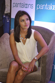 Priya Anand in Short Shorts Spicy Trendy Look at Pantaloons Store Launch Chennai