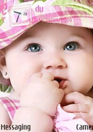 Cute Baby Themes For Mobile Phones Cute Baby Themes Cute Baby
