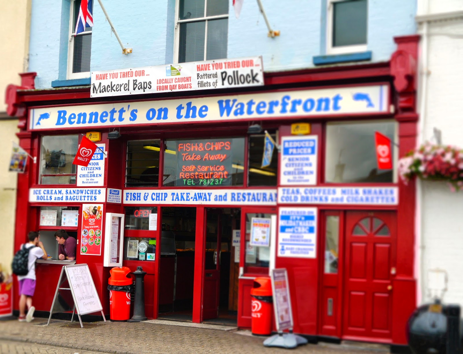 Weymouth Bennett's on the Waterfront
