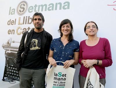 Ramon Pardina, Andrea Jofre i E. Viladoms | © La Setmana