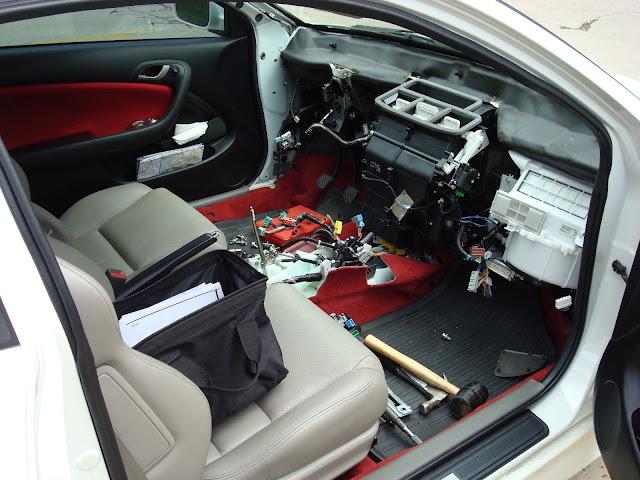 Acura Rsx Type  Honda Integra Dc5  Dashboard Tan To