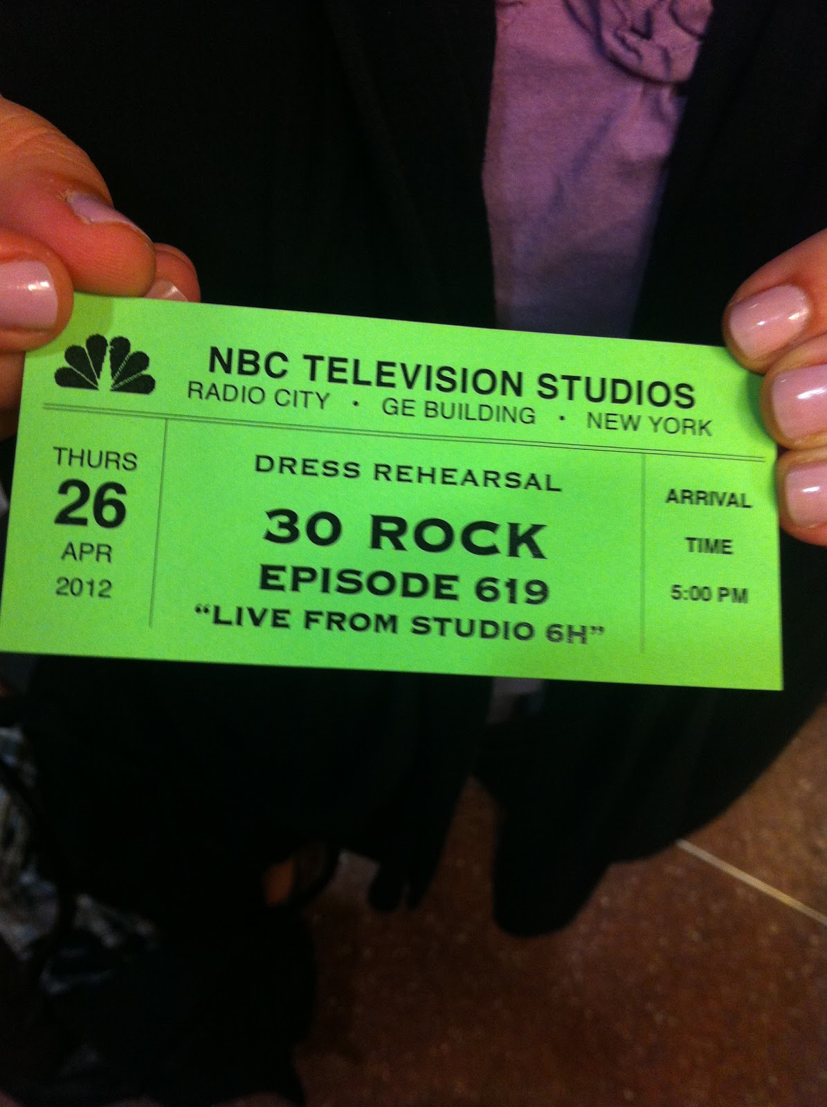 dear 30 rock live