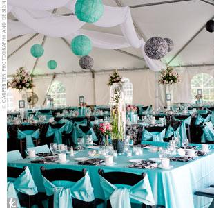 Choose A Tiffany Blue Wedding Theme