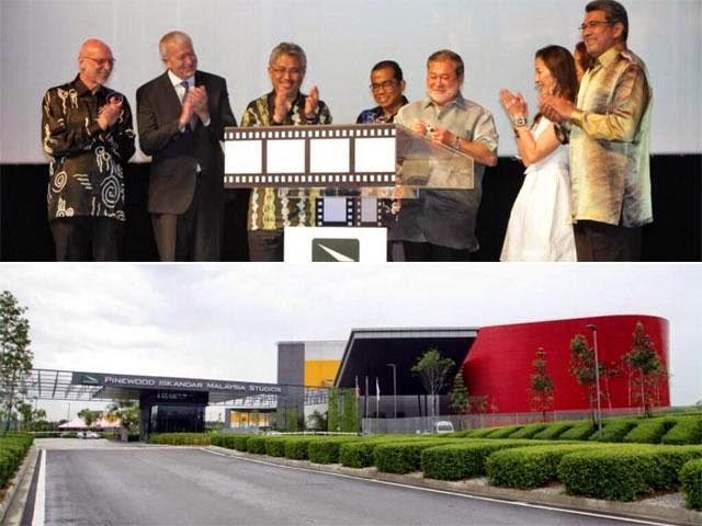 Studio Pinewood Iskandar Malaysia Dibuka Secara Rasmi!