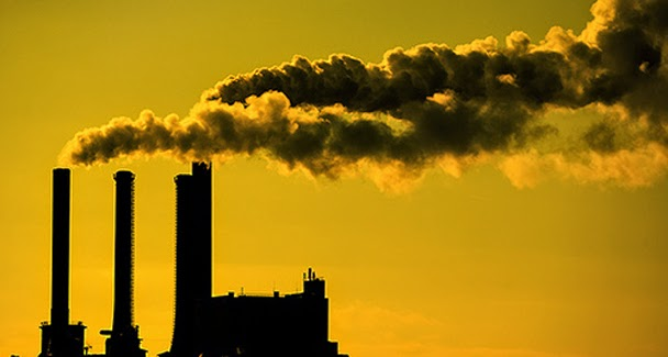 How does air pollution contributes to global warming?