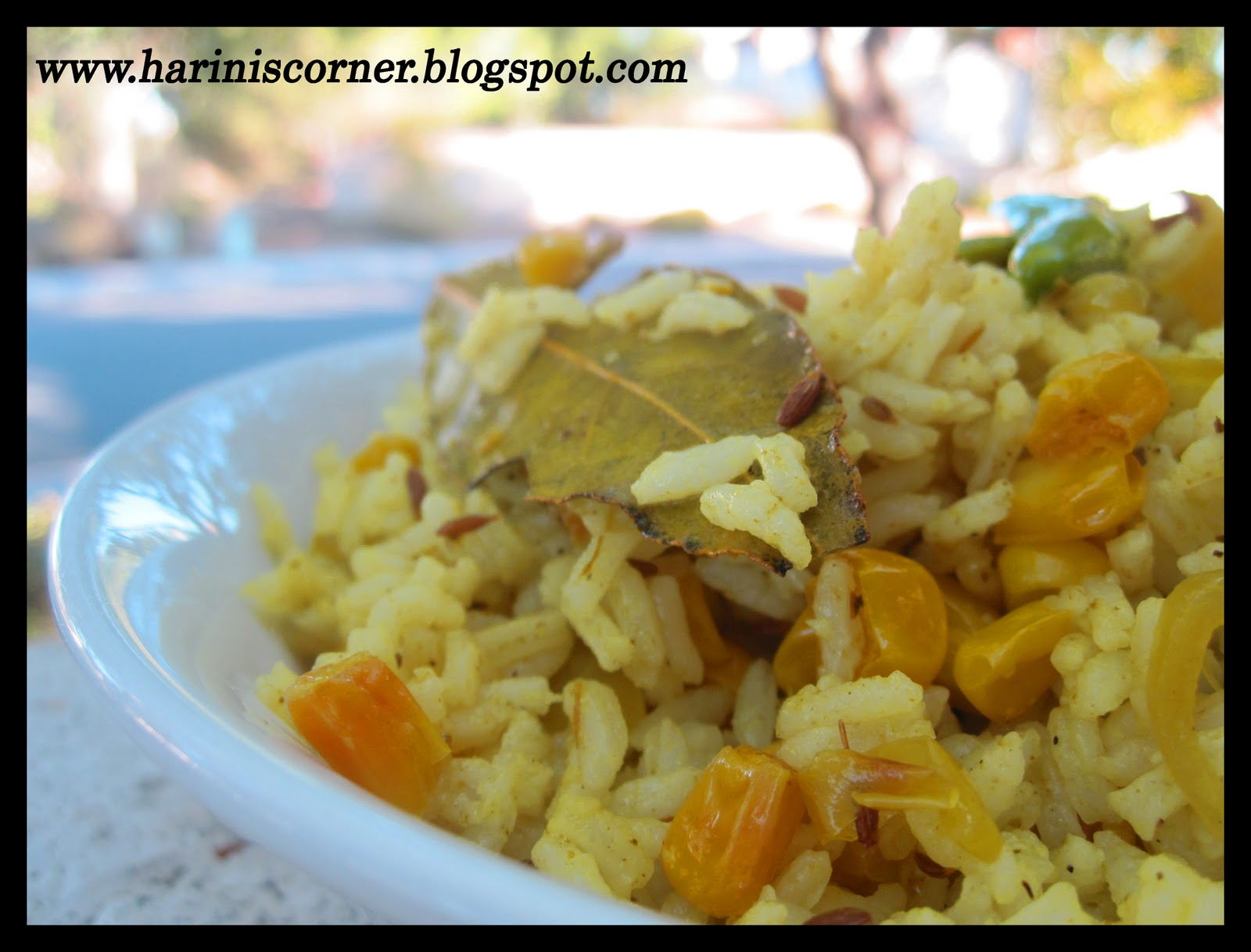 Sugar spice sweet corn rice how to make pressure cook the rice with 15 cups of water for 3 whistles in a pressure cooker cool the rice heat a little oil in a pan and fry the cloves ccuart Choice Image