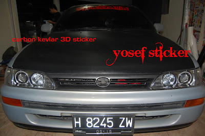 cutting sticker corolla BRO ADY