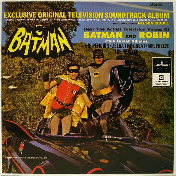 The Vinyl Frontier Nelson Riddle Batman Original
