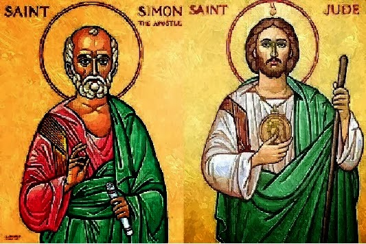 Faithful Resources for all Christian: Feast of Saints Simon and Jude,  Apostles ~ 28 October, 2014