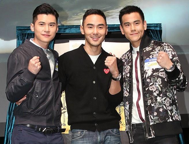 Ethan Ruan, Eddie Peng promote 'Breaking Wind' at HK Film ...