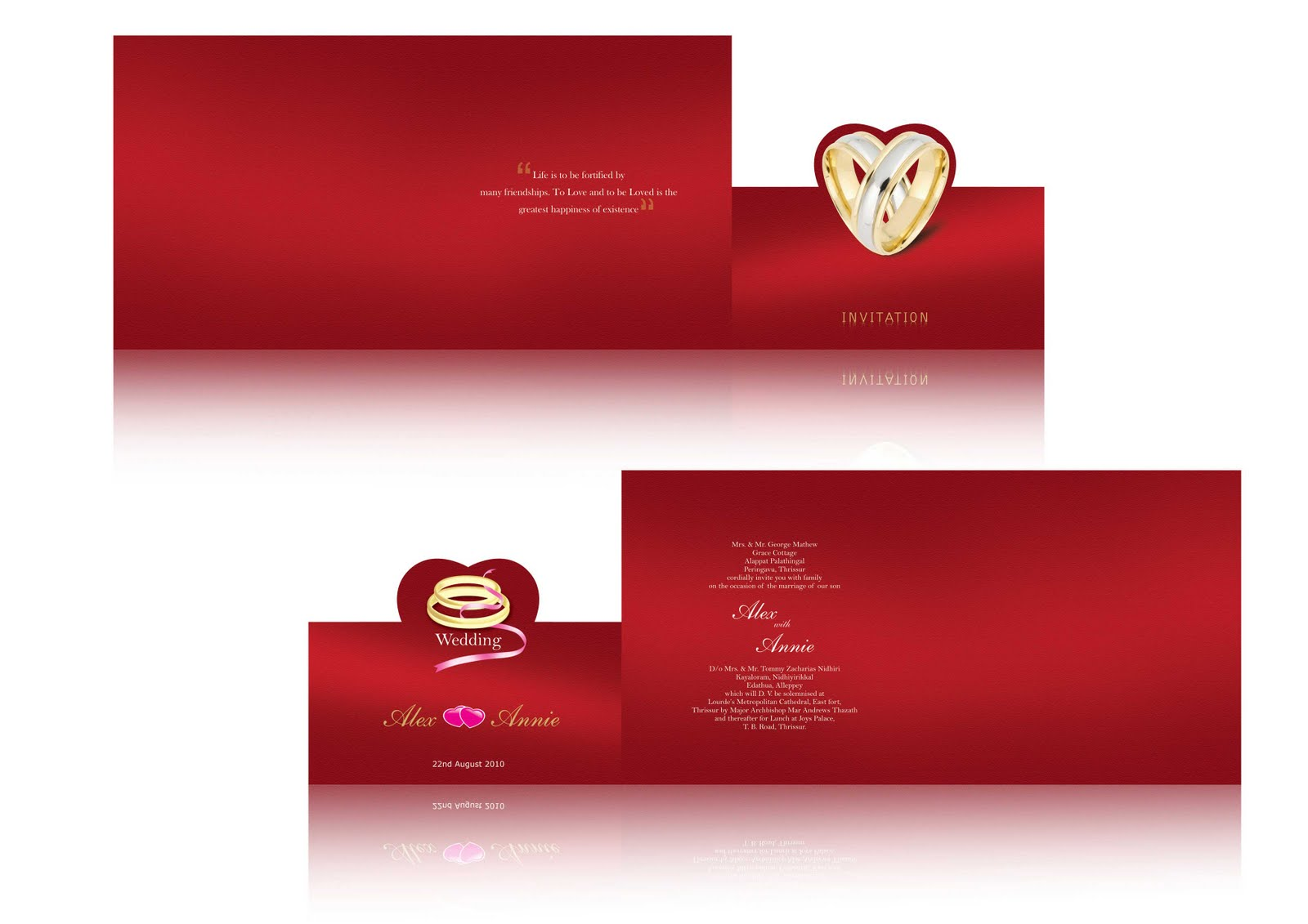 Design Wedding Invitations
