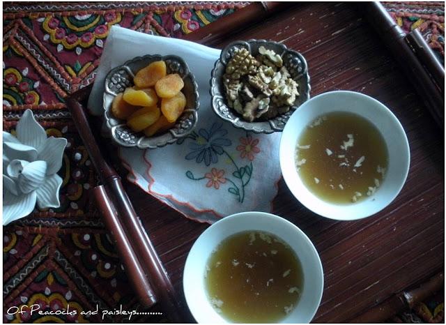 Indian green tea, Kahwa