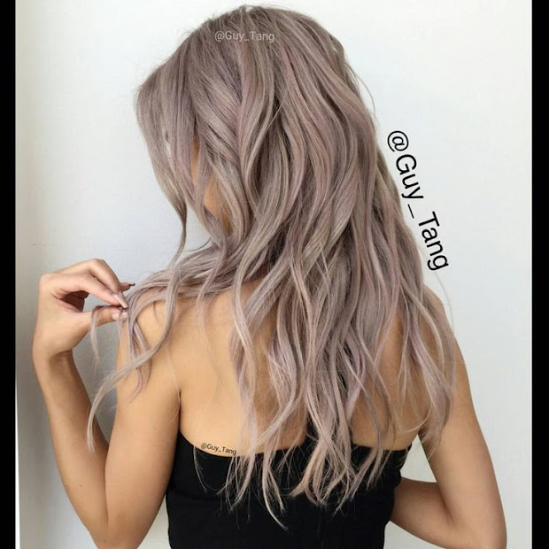 obsessed with metallic hair colors