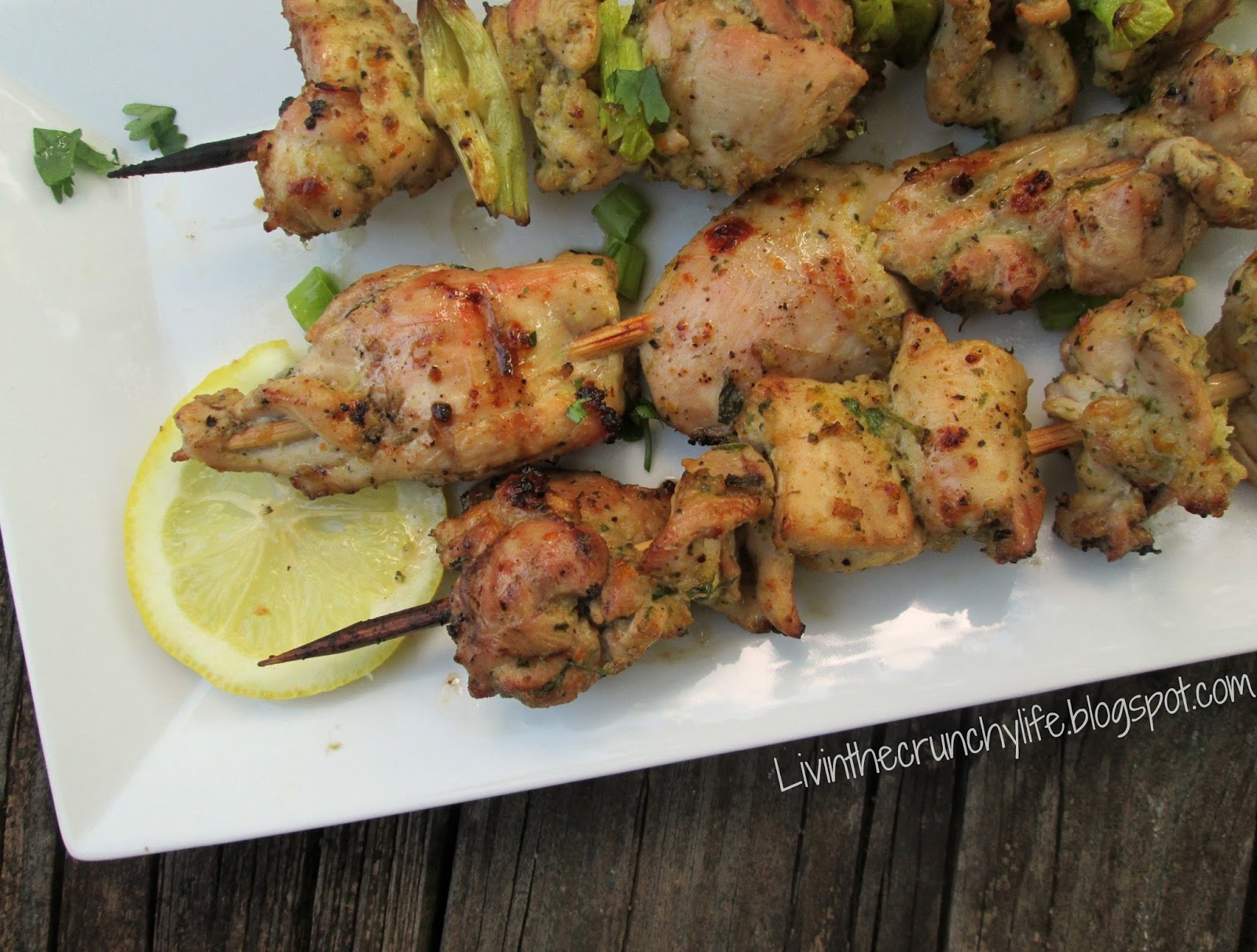 Citrus-Herb Chicken Kabobs