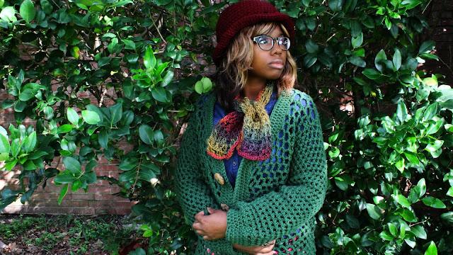 DIY: Super Easy Autumn Crochet Scarf // Free Crochet Pattern