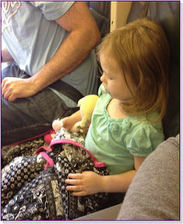 Tips for flying with a child