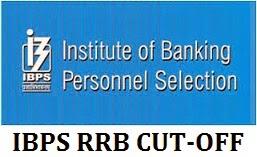 IBPS RRB CUT-OFF MARKS / SCORES 2014 2013 2012