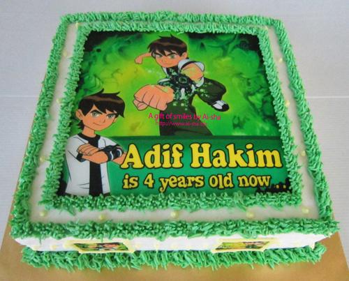 Birthday Cake Ben 10